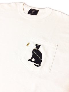 <img class='new_mark_img1' src='//img.shop-pro.jp/img/new/icons15.gif' style='border:none;display:inline;margin:0px;padding:0px;width:auto;' />Pocket T-shirt【Egyptian cat】