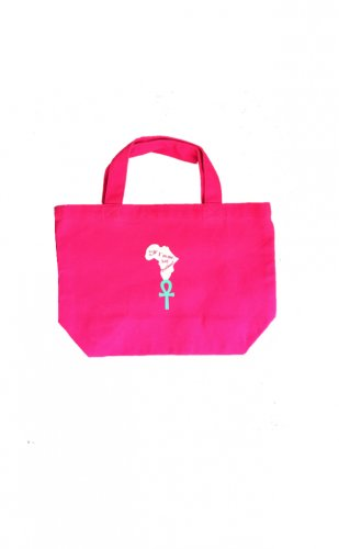 <img class='new_mark_img1' src='//img.shop-pro.jp/img/new/icons15.gif' style='border:none;display:inline;margin:0px;padding:0px;width:auto;' />Canvas mini tote bag【pink/green】