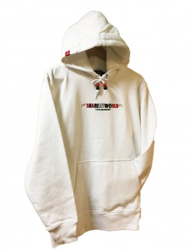 <img class='new_mark_img1' src='//img.shop-pro.jp/img/new/icons14.gif' style='border:none;display:inline;margin:0px;padding:0px;width:auto;' />Embroidery hoodie【White】