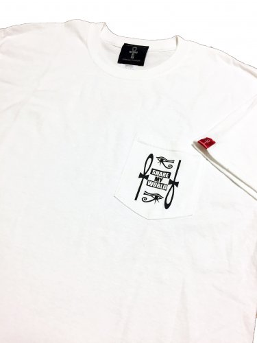 <img class='new_mark_img1' src='https://img.shop-pro.jp/img/new/icons12.gif' style='border:none;display:inline;margin:0px;padding:0px;width:auto;' />Pocket T-shirt【ankh×africa Back print】