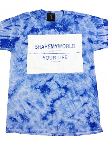 <img class='new_mark_img1' src='https://img.shop-pro.jp/img/new/icons12.gif' style='border:none;display:inline;margin:0px;padding:0px;width:auto;' />Ankh Tie Dye T-shirt【Blue,White】