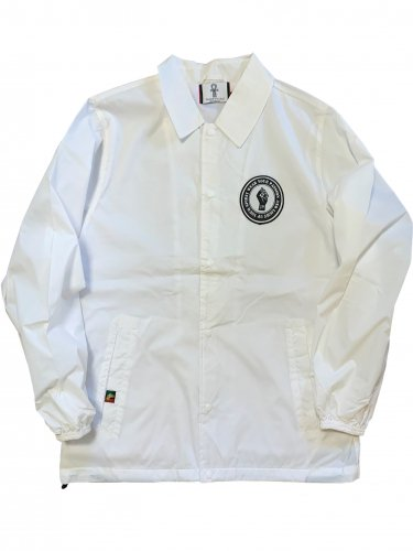 <img class='new_mark_img1' src='//img.shop-pro.jp/img/new/icons15.gif' style='border:none;display:inline;margin:0px;padding:0px;width:auto;' />Coach jacket【white×lime green】