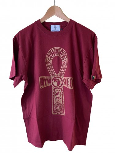 <img class='new_mark_img1' src='https://img.shop-pro.jp/img/new/icons15.gif' style='border:none;display:inline;margin:0px;padding:0px;width:auto;' />Ankh T-shirt.【gold print】