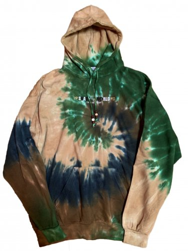 <img class='new_mark_img1' src='//img.shop-pro.jp/img/new/icons15.gif' style='border:none;display:inline;margin:0px;padding:0px;width:auto;' />Tie dye hoodie【camo swirl】