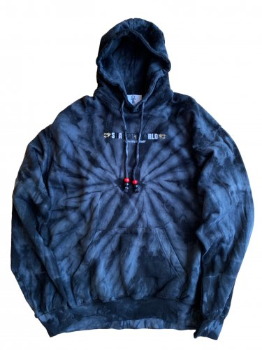 <img class='new_mark_img1' src='//img.shop-pro.jp/img/new/icons15.gif' style='border:none;display:inline;margin:0px;padding:0px;width:auto;' />Tie dye hoodie【black】
