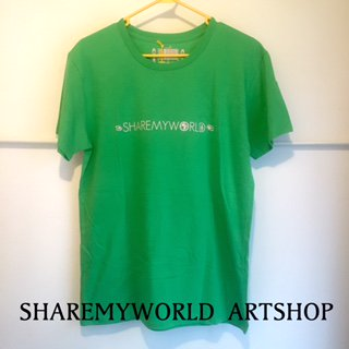 ANKH T-shirt【Green×Pink Basic】