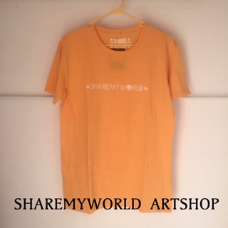 ANKH T-shirt【Yellow×White Basic】