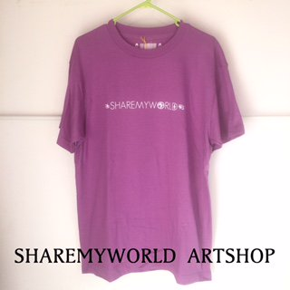 ANKH T-shirt【Lavender×White Basic】