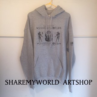 <img class='new_mark_img1' src='//img.shop-pro.jp/img/new/icons16.gif' style='border:none;display:inline;margin:0px;padding:0px;width:auto;' />King Tat hoodie【Gray】