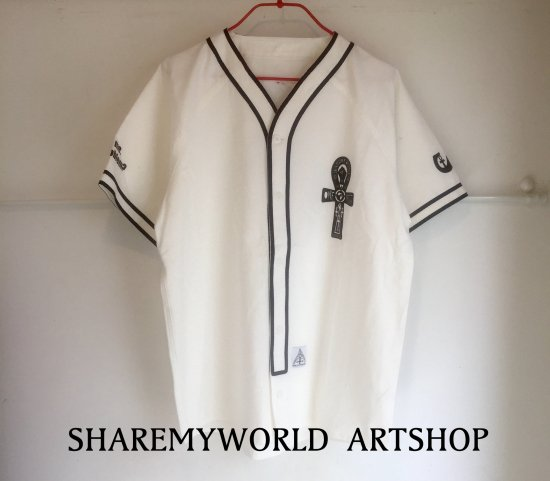 Baseball Shirt【White,Black】