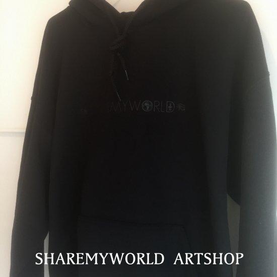 Ankh hoodie【Black×Black】
