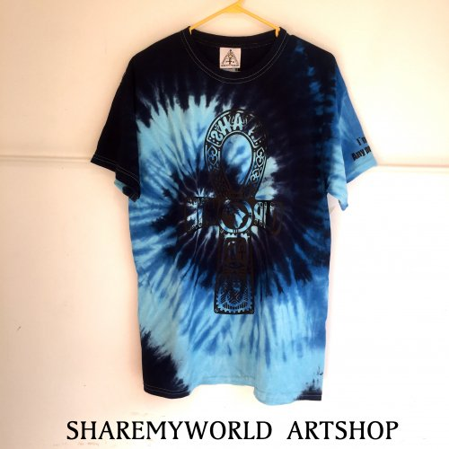 Blue sea Tie Dye T-shirt