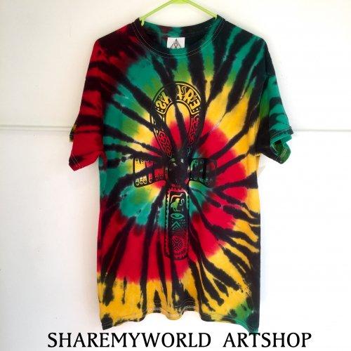 Rasta Tie Dye T-shirt