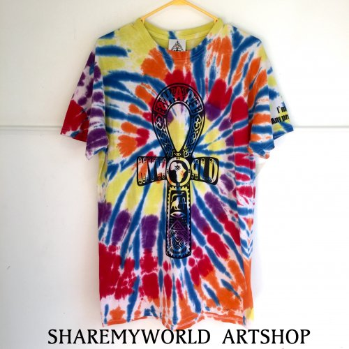 Colorful Tie Dye T-shirt