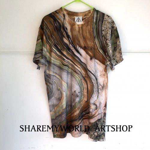 Marble camo Tie Dye T-shirt