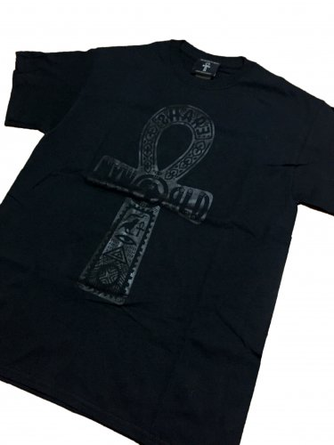 <img class='new_mark_img1' src='//img.shop-pro.jp/img/new/icons29.gif' style='border:none;display:inline;margin:0px;padding:0px;width:auto;' />ANKH T-shirt【Black×Black Basic】
