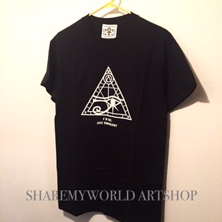 <img class='new_mark_img1' src='//img.shop-pro.jp/img/new/icons29.gif' style='border:none;display:inline;margin:0px;padding:0px;width:auto;' />Horus T-shirt【white,Black Basic】