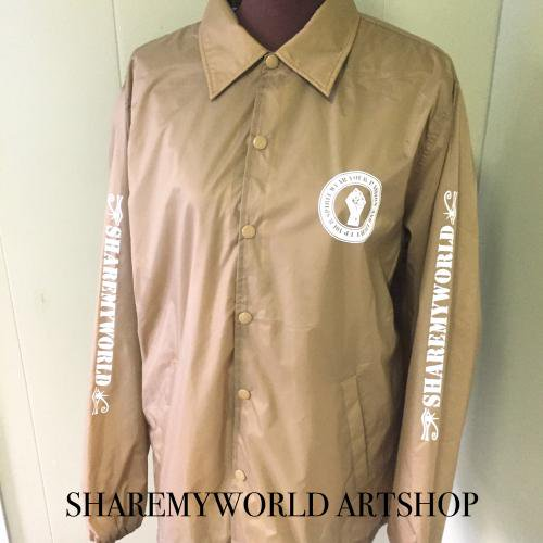 <img class='new_mark_img1' src='//img.shop-pro.jp/img/new/icons55.gif' style='border:none;display:inline;margin:0px;padding:0px;width:auto;' />Coach jacket【Beige】LsizeOnly