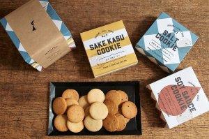 石川ローカルクッキー 3箱セット 塩/酒粕/醤油