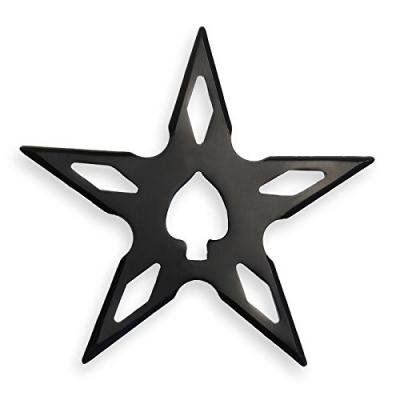 ★忍者グッズ 手裏剣 AD-66 新型 星型 黒