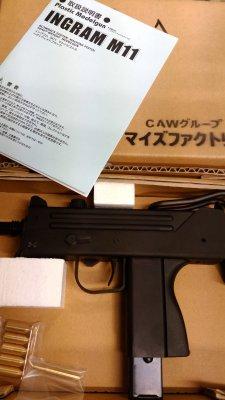 ★マイズファクトリー CAWグループ INGRAM M11 イングラム 発火式 MGCリバイバル モデルガン