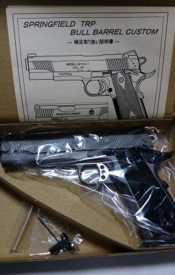 ★TANIO-KOBA タニオ・コバ GM-7 SPRINGFIELD TRP BULL BARREL CUSTOM モデルガン 発火式
