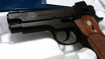 ★マルシン S&W M439 PFCブローバック 発火式  HW モデルガン 完成品