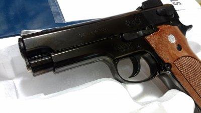 ★マルシン S&W M439 PFCブローバック 発火式  ABS2層ブラックメッキ モデルガン 完成品