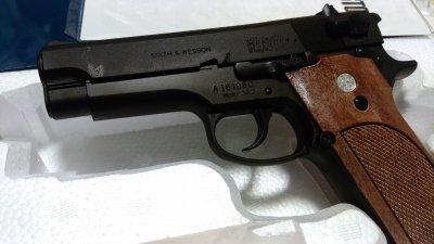 ★マルシン S&W M39 PFCブローバック 発火式  HW モデルガン 完成品