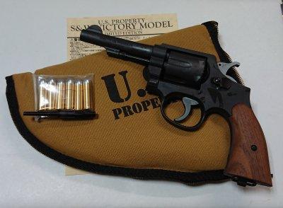 ★ハートフォード HWS S&W  VICTORY ヴィクトリー 4インチ 発火モデル HWナチュラル 6発