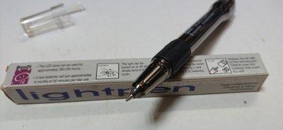 ★ライト付ボールペン 文具 ボールペン 手元を照らして書きやすい