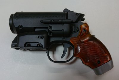 <img class='new_mark_img1' src='https://img.shop-pro.jp/img/new/icons24.gif' style='border:none;display:inline;margin:0px;padding:0px;width:auto;' />★エルフィンナイツ 高木型 十九年乙式 爆散拳銃 40ミリグレネードランチャー 40ミリ榴弾擲弾筒 TAKAGI Type M19b Blast Grenade Gun