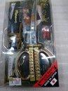 ★関伝の美 サムライ 侍ハサミ はさみ 日本刀鋏 掛け台付 MADE IN JAPAN 日本製