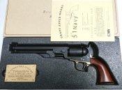 ★CAW コルト M1851 NAVY 4th 発火モデルガン 真鍮TG/BS標準装備 ウォールナットグリップ付 黒 発火モデル