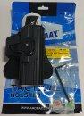 ★サイタック CYTAC AMOMAX(アモマックス) リリースボタン・ホルスター グロック GLOCKシリーズ(42を除く)用 AM-GLOCK HOLSTER