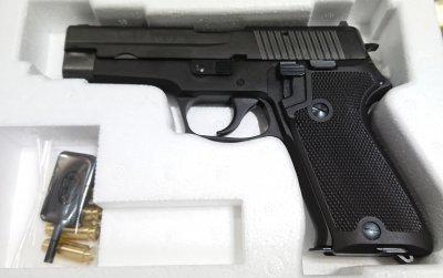 NEWタナカ P220 EVO2 海上自衛隊 9mm拳銃 SIG/SAUER 海自 ...