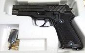 ★NEWタナカ P220 EVO2 海上自衛隊 9mm拳銃 SIG/SAUER 海自 エボリューション2 モデルガン フレームHW 発火 EVOLUTION2