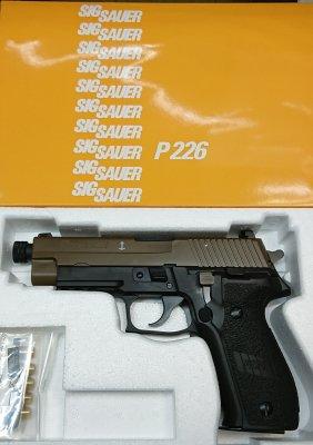★タナカ SIG SAUER P226 Mk25-TB TWO-TONE EVO2 Frame HW エボリューション2 モデルガン フレームHW シグ