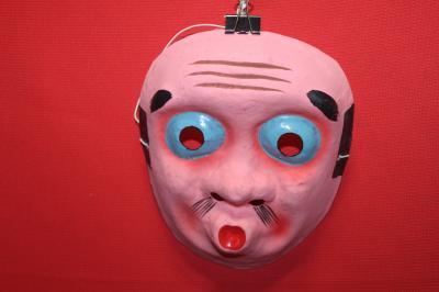 ★特価 ひょっとこ お面 マスク 日本のお土産に!イベントに!装飾に!