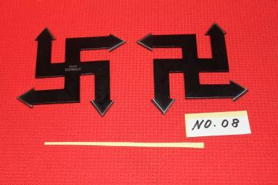 ★忍者グッズ 卍 手裏剣 2枚セット ケース付