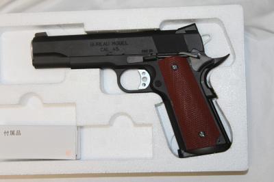 1★MGC FBIビューローHW 45ACP 発火式 モデルガン