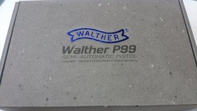 ★マルゼン ワルサーP99  ガスブローバック 007 WALTHER