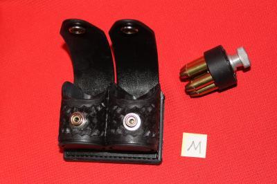★HKS スピードローダー 2個入用 ローダーケース Mサイズ