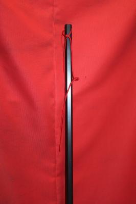 鬼の鉄棒 130cm X 2cm  6角 シルバー 重量 3・4kg