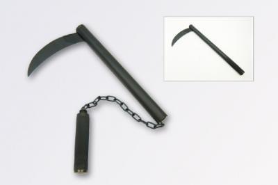 ★忍者 クサリカマ 鎖鎌 連結式 飾り