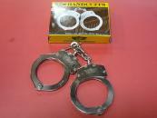 ★UZI社 POLICE(警察) 実物手錠 シルバー ウージー 拘束具 ハンドカフ handcuff