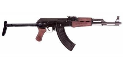 ★DENIX(デニックス) AK47 カラシニコフ 折り曲げ床尾付 88cm[1097]