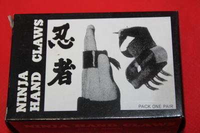 ★忍者の武器 鍵手 ハンドクロー 短い爪 手甲鉤