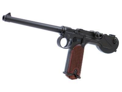 ★CAW Borchardt pistole Luewe ボーチャードピストル  ブラック HW【ボルヒャルトピストーレ 完成品】