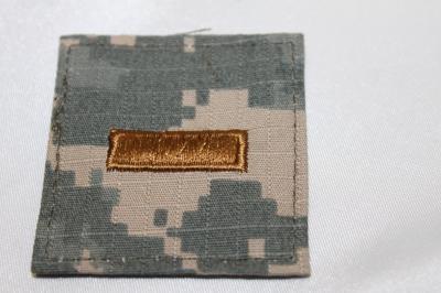 雑貨 ワッペン アメリカ陸軍/少尉(ACU) SP-09
